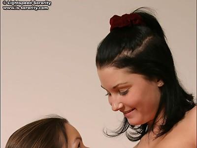 Teen Sorority Hotties. Two sexy Lightspeed Sorority sisters play a naughty ...